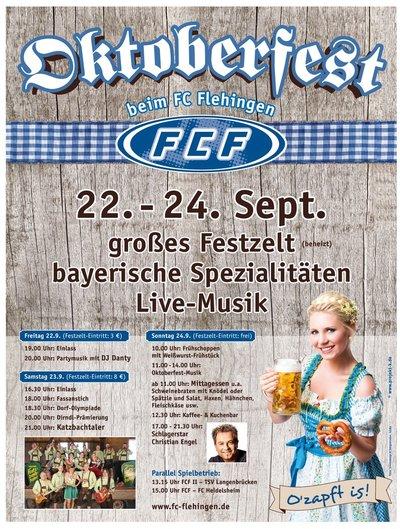 FC Flehingen Oktoberfest 2017