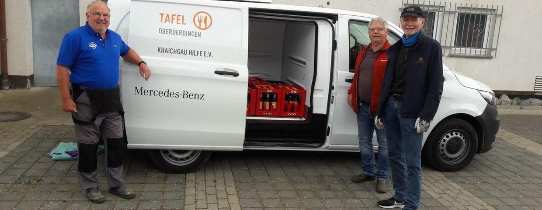 FC Flehingen spendet an die Oberderdinger Tafel