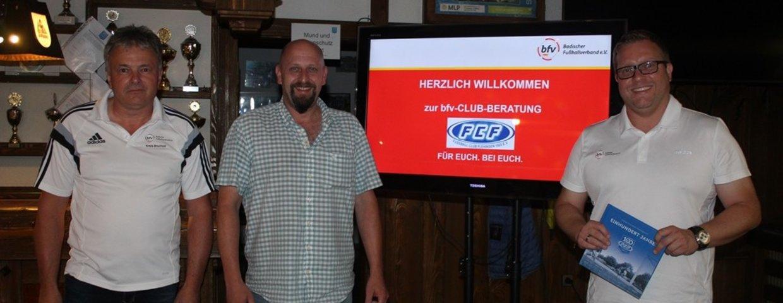 BFV Club-Berater zu Gast in Flehingen